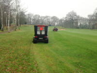 Trilo machinery   Blowing and collecting on the 3rd Hole No.3
