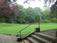 Heaton Moor Park, former bowling greenIMG 0065