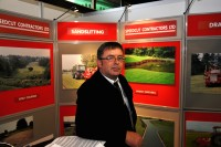 Barry Pace of Speedcut Contractors at BTME 2013 DSC 0244