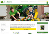 John Deere Online Shop website