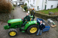 Clovelly tractor B