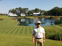 Me at thee 17th tee