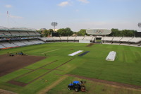 Lord\'s outfield post Olympics turf replacement