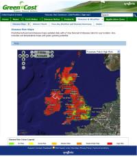 Syngenta - GreenCast Disease map 16 Jan 2009.jpg