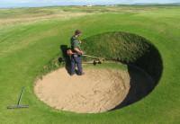 5. Strimming bunker face Royal Porthcawl.jpg