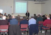 Mark Glover from Bellenden Public affairs updates TGA members