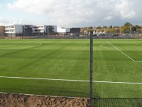 New pitch after construction