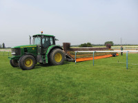 Southwell fence moving