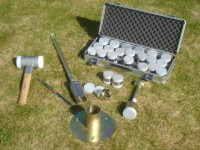 Soil structure sampling equipment