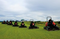 CastleStuart ScottishOpen Mowing