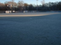 Photo 1   pitch frozen all day