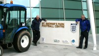 Alan Ferguson and Richard Campey at St Georges Park