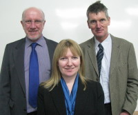 Tim Mudge, Gail Soutar, Hugh Dampney