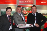 Speedcut team at BTME 2011 l r Kevin Smith, Dick Franklin and Barry Pace