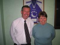 Duncan McGilvray and Linda Simms