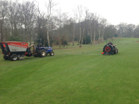 Trilo machinery   Blowing and collecting on the 3rd Hole No.2