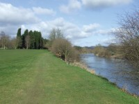 Bridgnorth River holes subject to silt covering