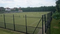 Multi Use Pitch with RAL Black Fence
