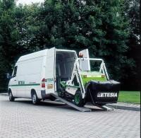 H124DN loading in van.JPG