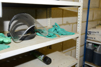 PPE shelf