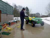 Elsham Golf Club England demonstrate ClearWater can be used in all weathers