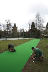 Cricket installation 2