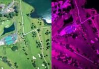 Nastek lens from a plane