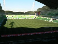 AAMI Park from the Olympic boulevard end