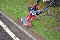 The new  second generation Atom Pro 580 Edger from DJ Turfcare has a Mitsubishi engine