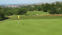 City golf & view over 2nd green