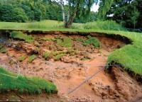 Bridgnorth 7th tee washed away 001