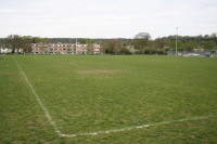 dry rugby pitch