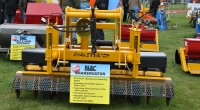 The new BLEC Shakervator was shown at the SalonVert show near Bordeaux