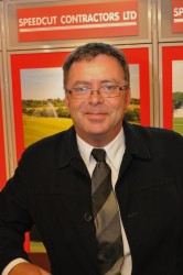 Barry Pace, Speedcut contracts manager   coping with weather conditions