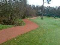 J. 9th path completed Cottesmore