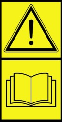 Read Manual Decal
