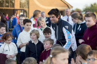 Alastair Cook and a few Brickhill Badgers