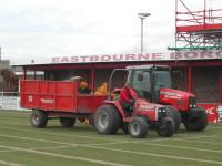 Speedcut Contractors in action at Eastbourne Borough FC.JPG