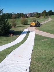 Grassform Ltd. TrakMats on golf course.jpg
