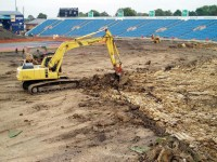 Photo 2 - Reducing the level of clay subsoil base at the Kirkstall Lane end of the outfield.jpg
