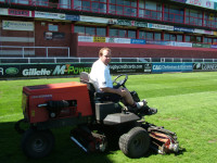 rugby mowing
