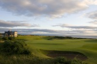 Kingsbarns 9th Green from left