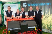 The Wiedenmann UK team with Jurgen Wiedenmann, joint managing director, Wiedenmann Gmbh