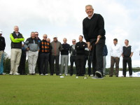 Monty´s golf clinic at Kingsbarns putting