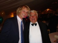 George and I at the Centenary Ball