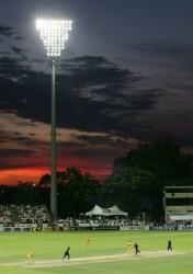 Sunset at Seddon Park