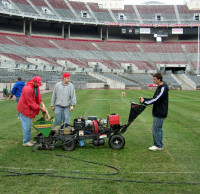 DryJecting in progress