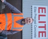 Owen Batham, Elite Precast Concrete Sales and Marketing Director