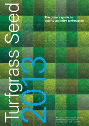 BSPB Turfgrass 2013 Cover
