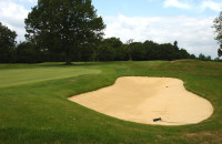 Grassform Ltd. Moor Pack GC finished bunkers, raked and ready for use.JPG